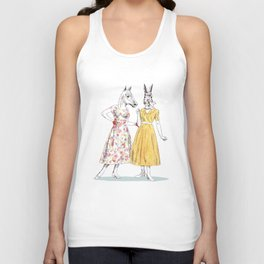 Bestial ladies Unisex Tank Top