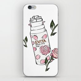Rose Cleanser iPhone Skin