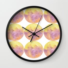 Ombre Circle (1) Wall Clock