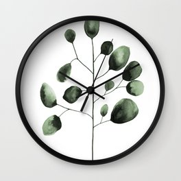 Eucalyptus Wall Clock