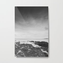 Scottish Coastline Metal Print