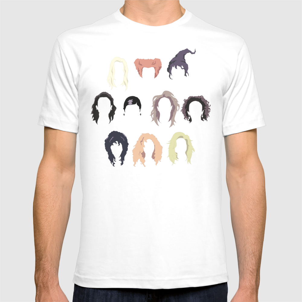 Witch Hair T-shirt by S1ngxthexs0rr0w TSR7750870