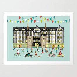 Art Print of Liberty of London Store - Daytime Art Print