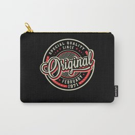 Special Quality Since February 1971 Carry-All Pouch