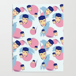 Alexa Is A Pretty Boy In Pink Poster