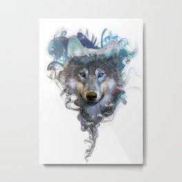 Wolf - Spirit Animal Metal Print