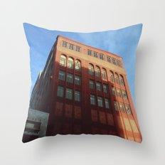 1400 Woodward - Downtown Detroit Throw Pillow