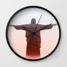 Corcovado Rio de Janeiro Brazil Wall Clock