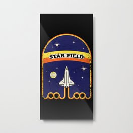 Star Field Metal Print