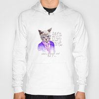 karl lagerfeld Hoodies featuring Fashion Mr. Cat Karl Lagerfeld and Chanel by Smog