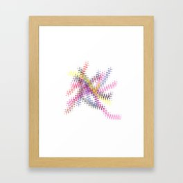 Interlaced Framed Art Print