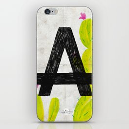 Cactus A iPhone Skin