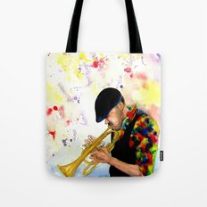 The Colors of Jazz Tote Bag