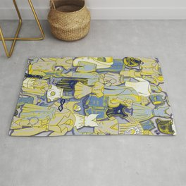 YELLOW CLOTHES Rug