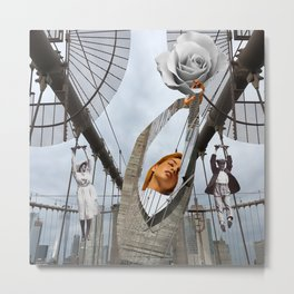 Hold on to your feelings Metal Print