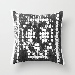Crochet Impressions: SKULL Throw Pillow