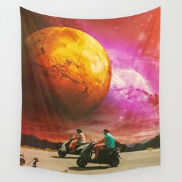 Riders Wall Tapestry