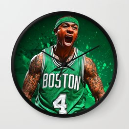 Isaiah Thomas Wall Clock