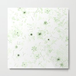 Festive watercolor flowers 27 Metal Print