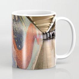 Orange Tiled Tale Coffee Mug