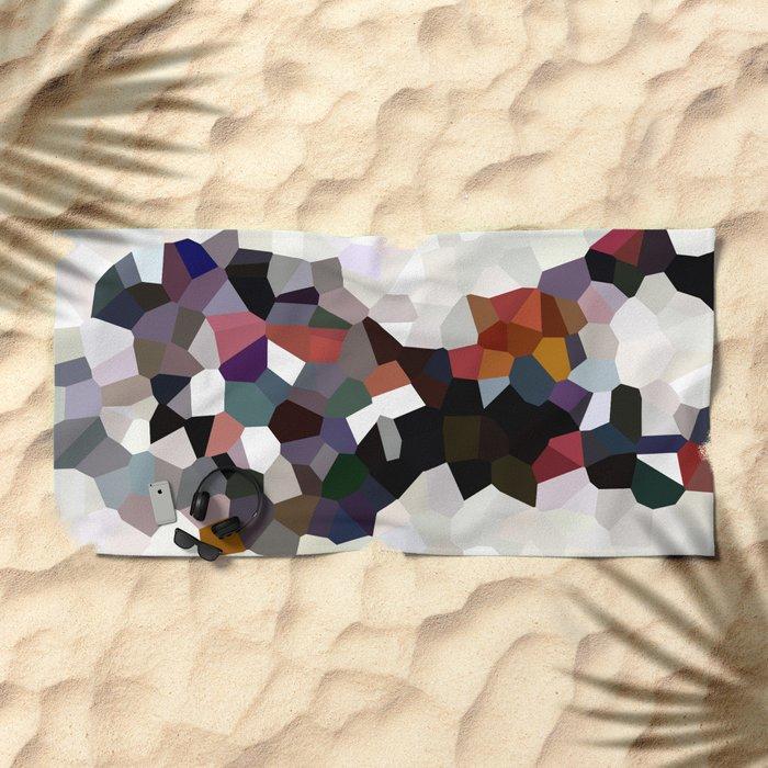 Geometric Anatomy Beach Towel