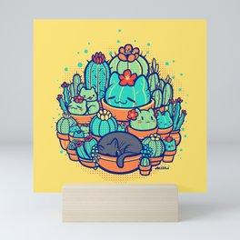 Catcus Patch Mini Art Print