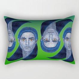 Fatal Beauty Rectangular Pillow