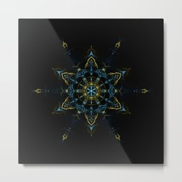 The Spirit Mandala Metal Print