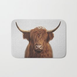 Highland Cow - Colorful Badematte