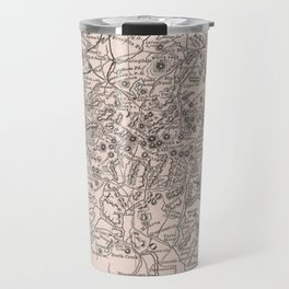 Vintage Map of The Adirondack Mountains (1901) Travel Mug