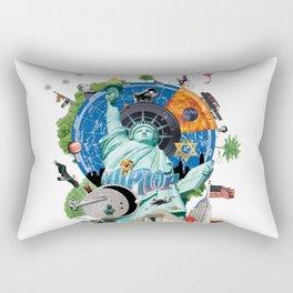 Alternative New York Rectangular Pillow