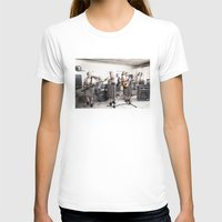 band T-shirts featuring Rock Band by Orbon Alija
