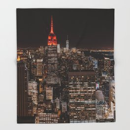 New York NY Throw Blanket
