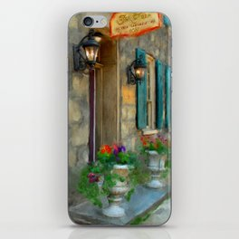 A Victorian Tea Room iPhone Skin