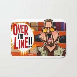 Over the Line Bath Mat