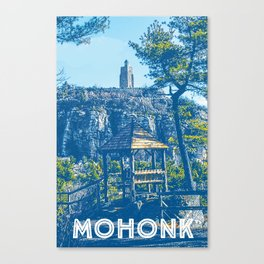 Mohonk Sky Tower  Canvas Print