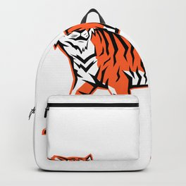 Bengal Tiger Full Body Mascot Backpack