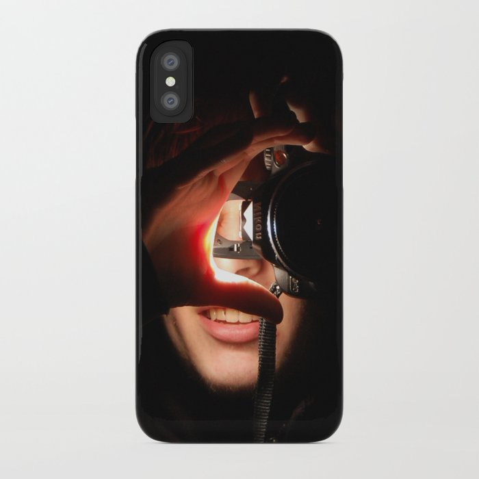 How the World Looks at Me. iPhone Case