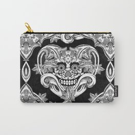 Crazy Heart BW Carry-All Pouch