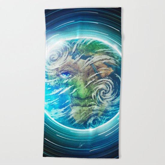 Earth II Beach Towel