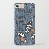 mid century iPhone & iPod Cases featuring mid century fun by jennifer judd-mcgee