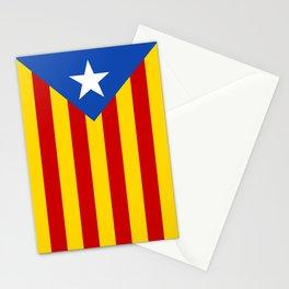 Estelada Blava - Senyeraestelada, Banner version Stationery Cards