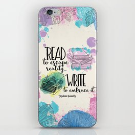 Write to Embrace design iPhone Skin