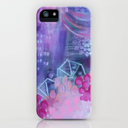 Dream in Purple iPhone Case