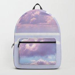 Dreamy Pastel Sky on Violet Backpack