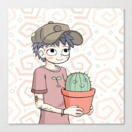 Cactus Gal Canvas Print