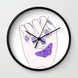 LittleThings, in purple Wall Clock