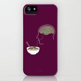 Noodle Brain iPhone Case