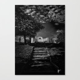 Tombstone Shadow No 9 Canvas Print