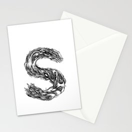 The Illustrated S Stationery Cards